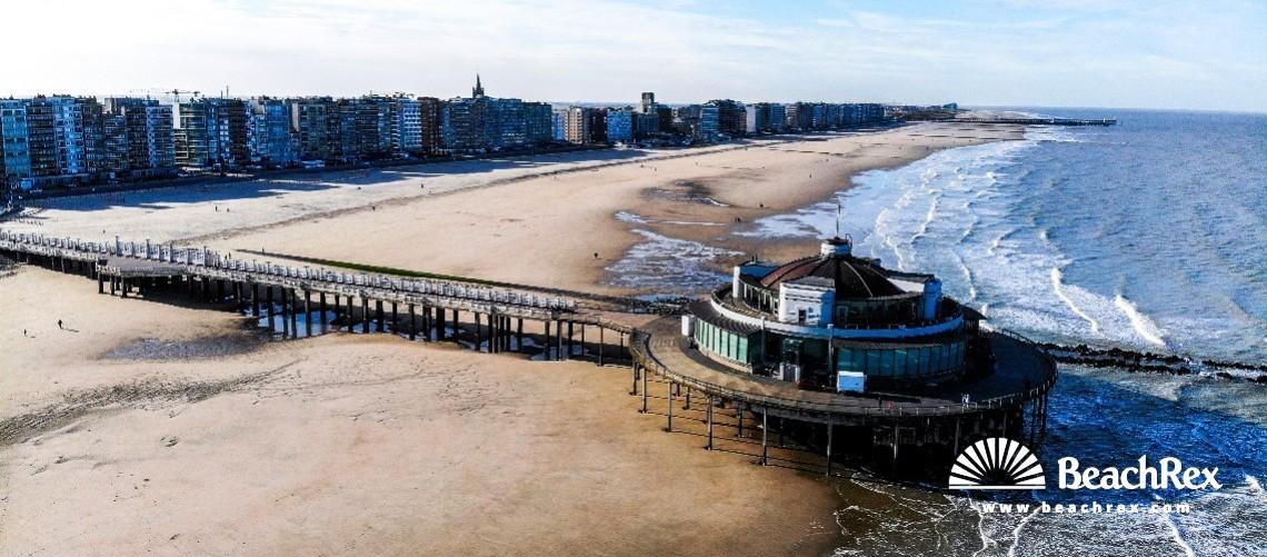 Belgium - WestVlaanderen -  Blankenberge - Strand Blankenberge pier