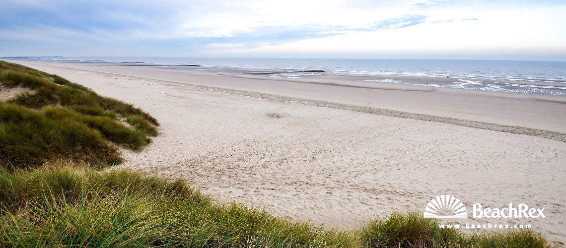 Belgium - WestVlaanderen -  Bredene - Strand Bredene