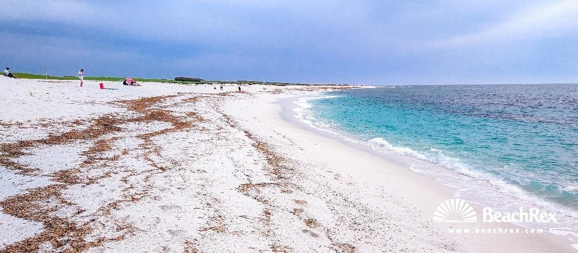 Italy - Oristano - Sardegna -  Cabras - Beach S'Archeddu 'e Sa Canna