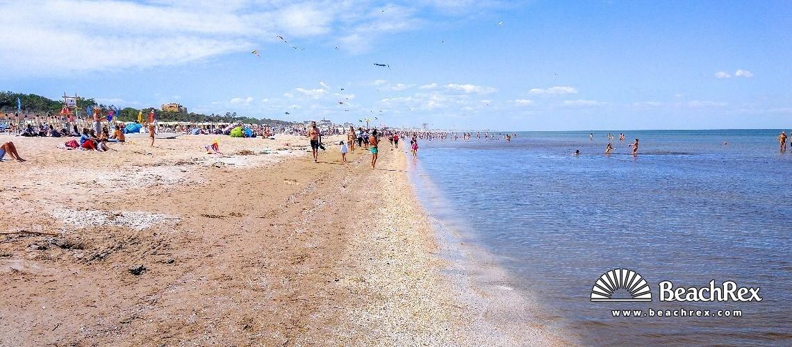 Italy - EmiliaRomagna -  Cervia - Beach Pinarella di Cervia