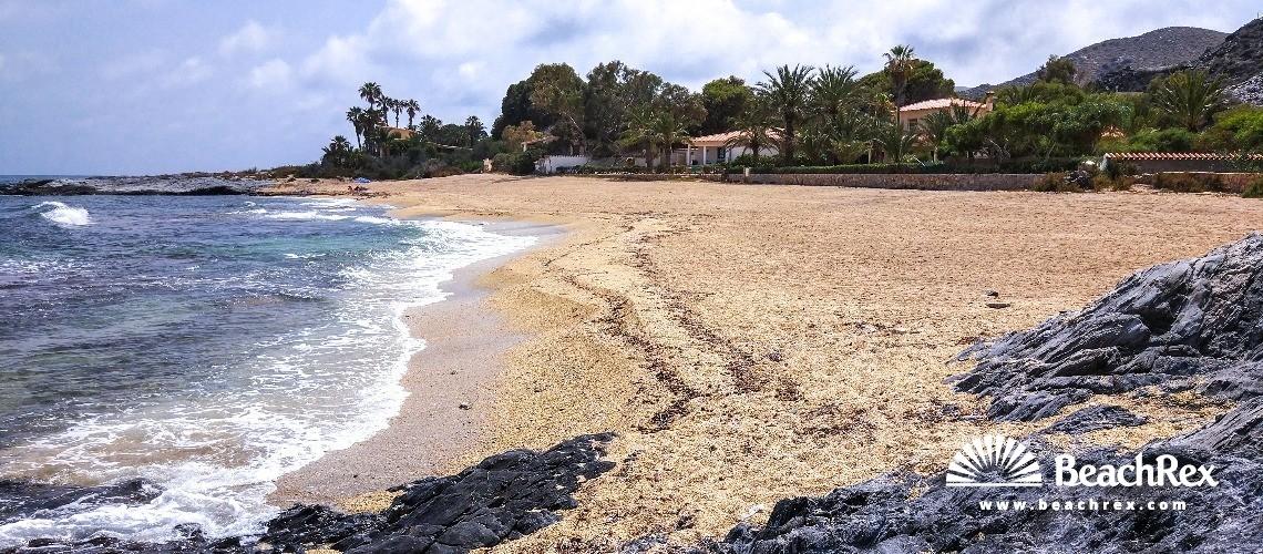 Spain - Andalucia -  Cuevas del Almanzora - Playa Cala Panizo