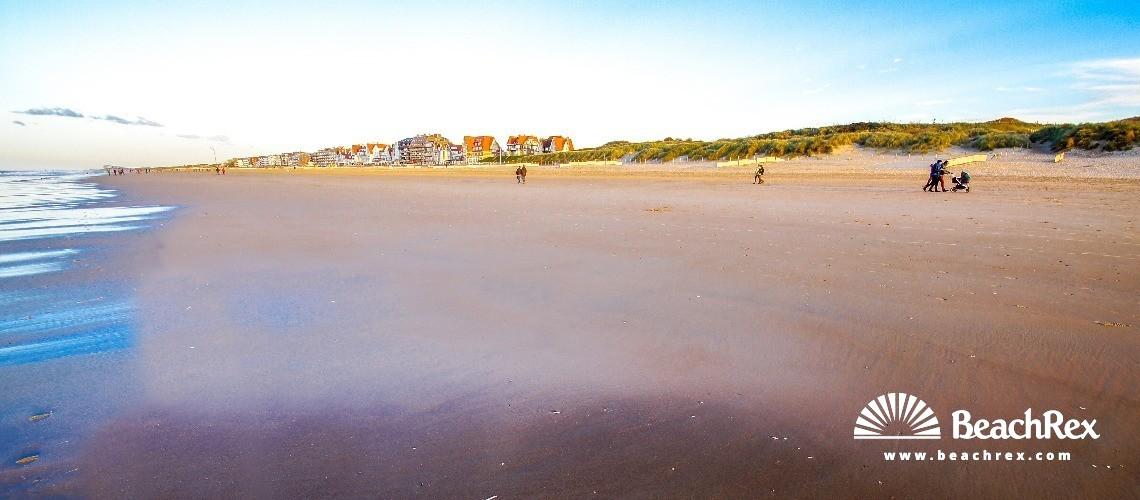Belgium - WestVlaanderen -  De Haan - Strand Zeepreventorium