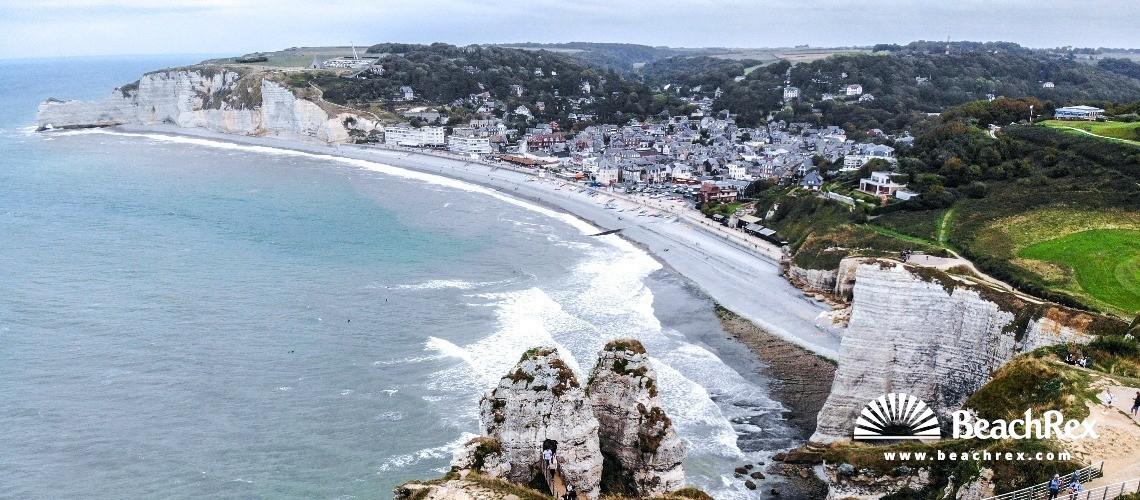 France - Normandie -  Étretat - Plage Etretat