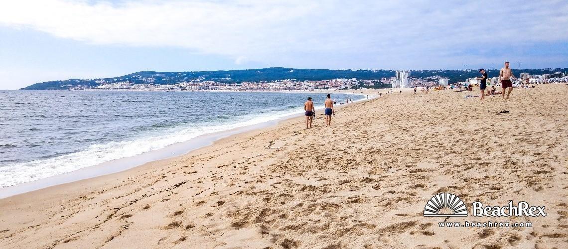Portugal - Coimbra -  Figueira da Foz - Praia da Figueira da Foz