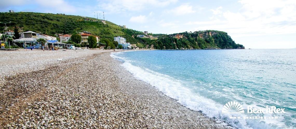 Albania - Vlorë -  Himarë - Plazhi Potam