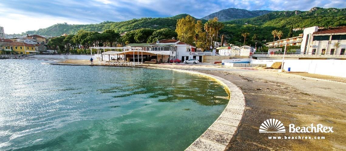 Montenegro - Herceg Novi -  Igalo - Beach Igalo