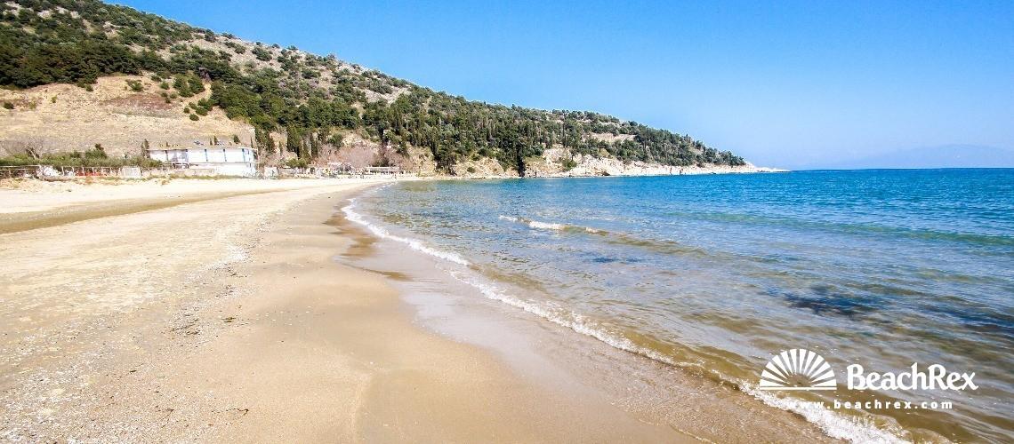 Greece - Anatoliki Makedonia kai Thraki -  Kavala - Paralia Aspri Ammos