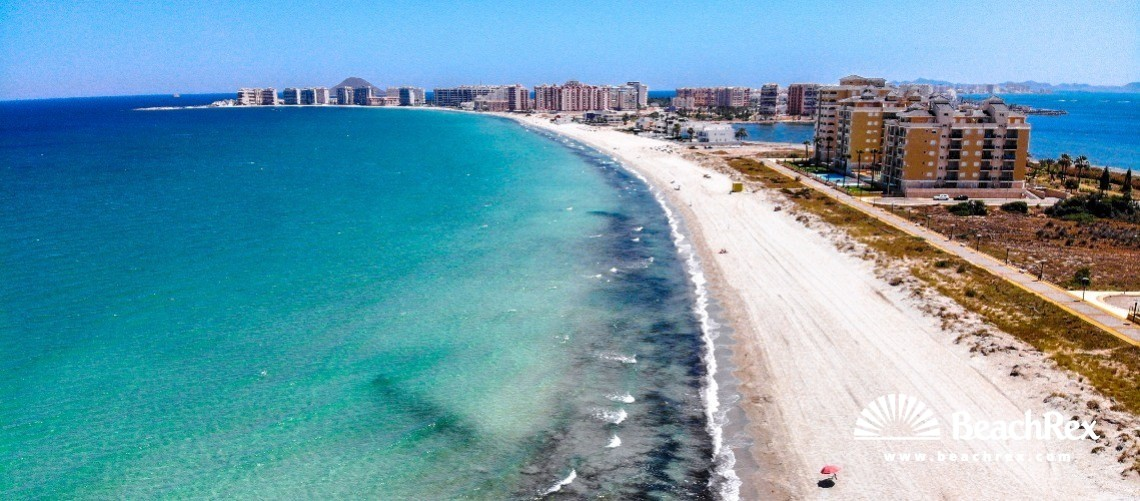 Spain - Murcia -  La Manga - Playa del Pudrimel