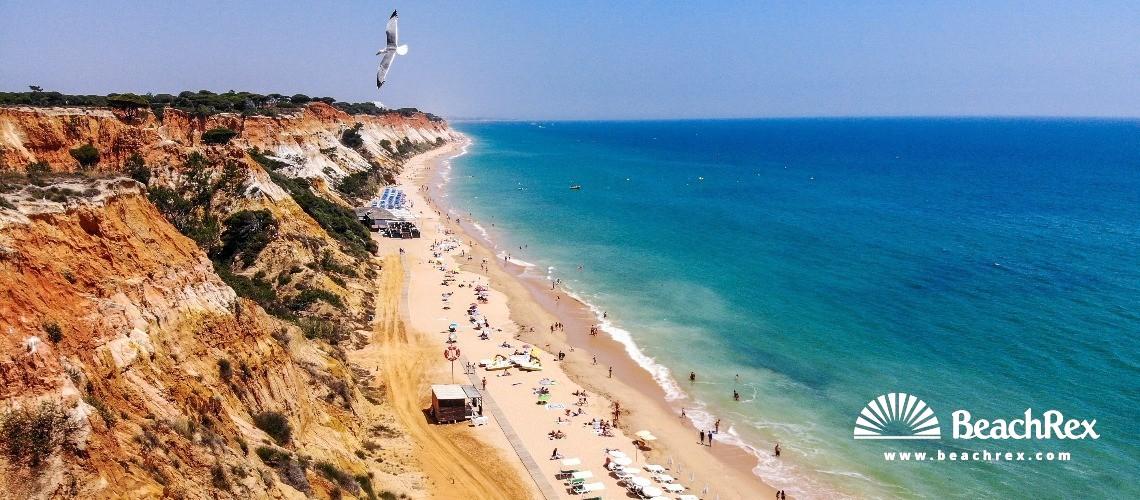 Portugal - Algarve -  Olhos de Água - Praia da Falésia