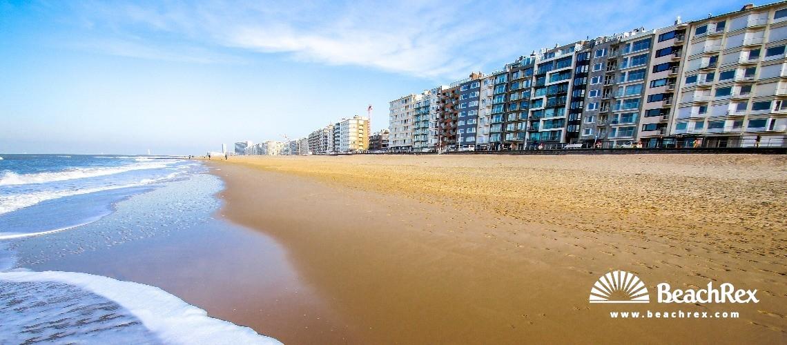 Belgium - WestVlaanderen -  Oostende - Strand Mariakerke Bad