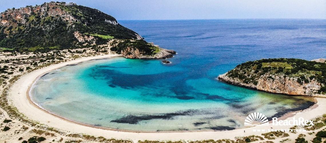 Greece - Peloponnisos -  Paleokastro - Paralia Voidokilia