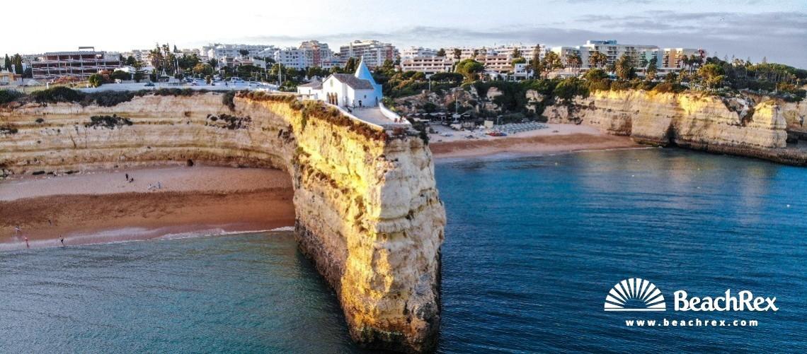 Portugal - Algarve -  Porches - Praia da Senhora da Rocha