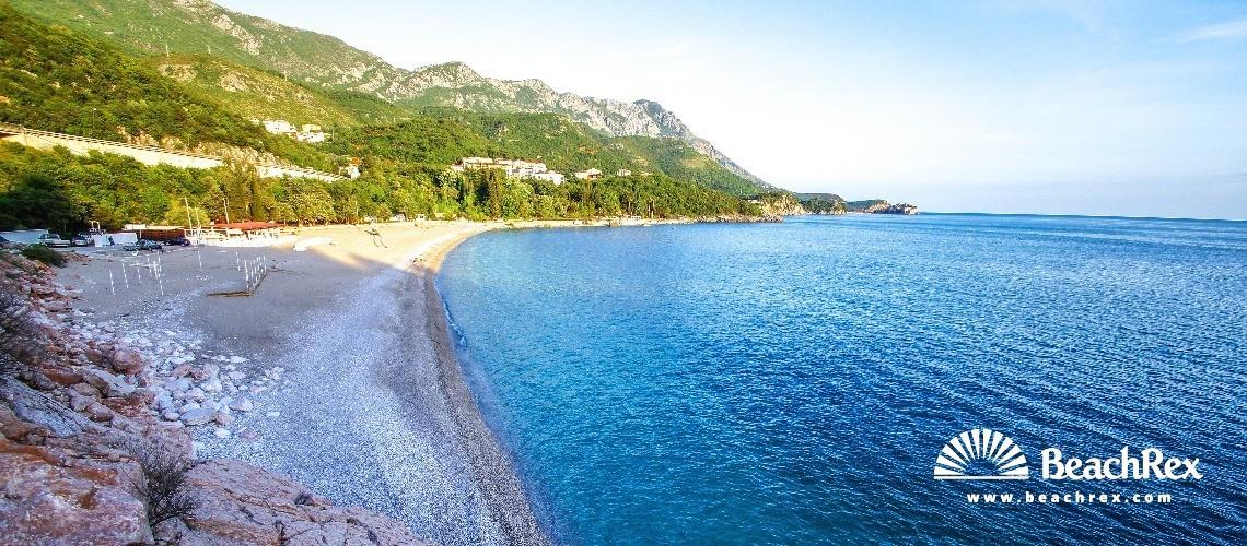 Montenegro - Budva -  Pržno - Beach Kamenovo