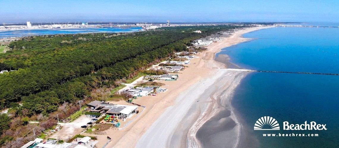 Italy - EmiliaRomagna -  Ravena - Beach Punta Marina