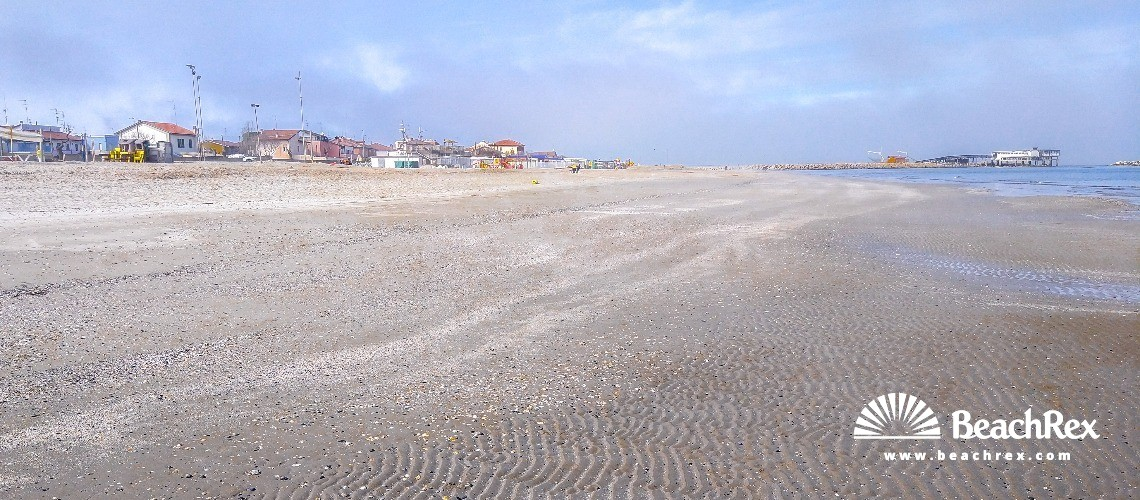 Italy - EmiliaRomagna -  Ravena - Beach Casalborsetti Sud