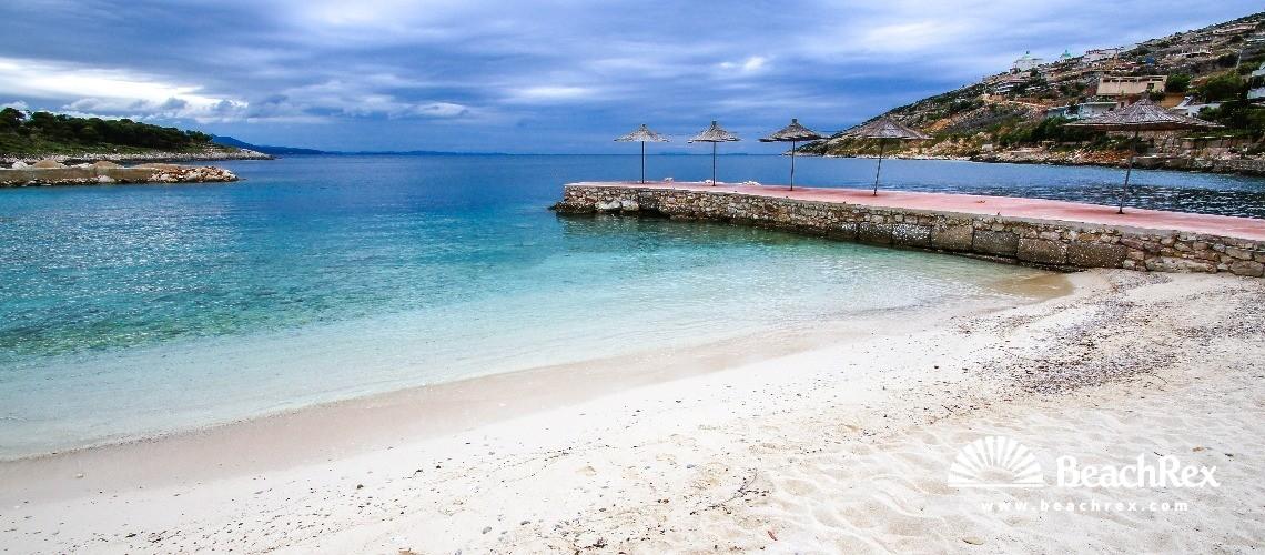 Albania - Vlorë -  Sarandë - Plazhi Gjiri Sarandë