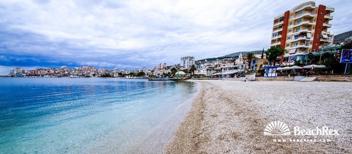 Albania - Vlorë -  Sarandë - Plazhi Sarandë 7