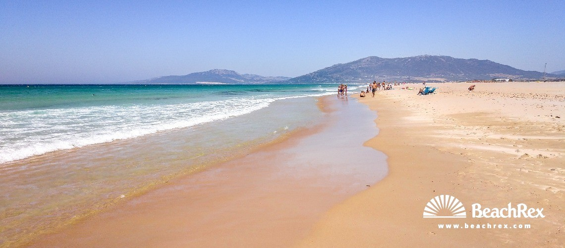 Spain - Andalucia -  Tarifa - Playa los Lances Sur