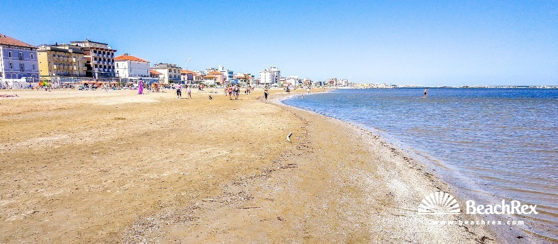 Italija - EmiliaRomagna -  Viserba - Plaža Viserba
