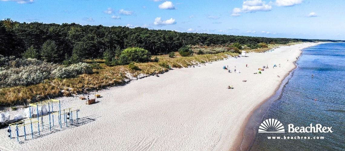 Germany - MecklenburgVorpommern - Usedom -  Zinnowitz - Strand Zinnowitz