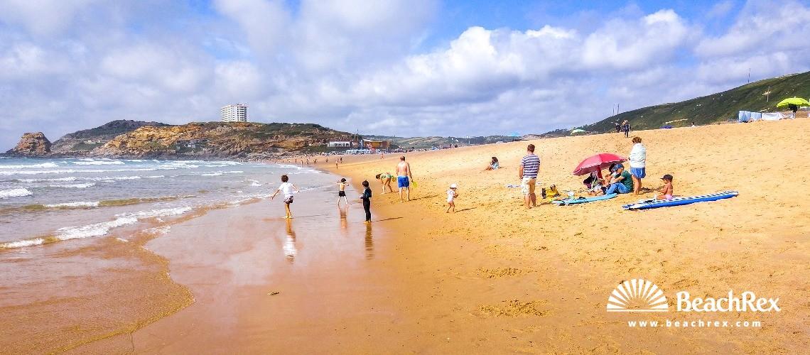 Portugal - Lisboa -  A dos Cunhados e Maceira - Praia de Santa Rita