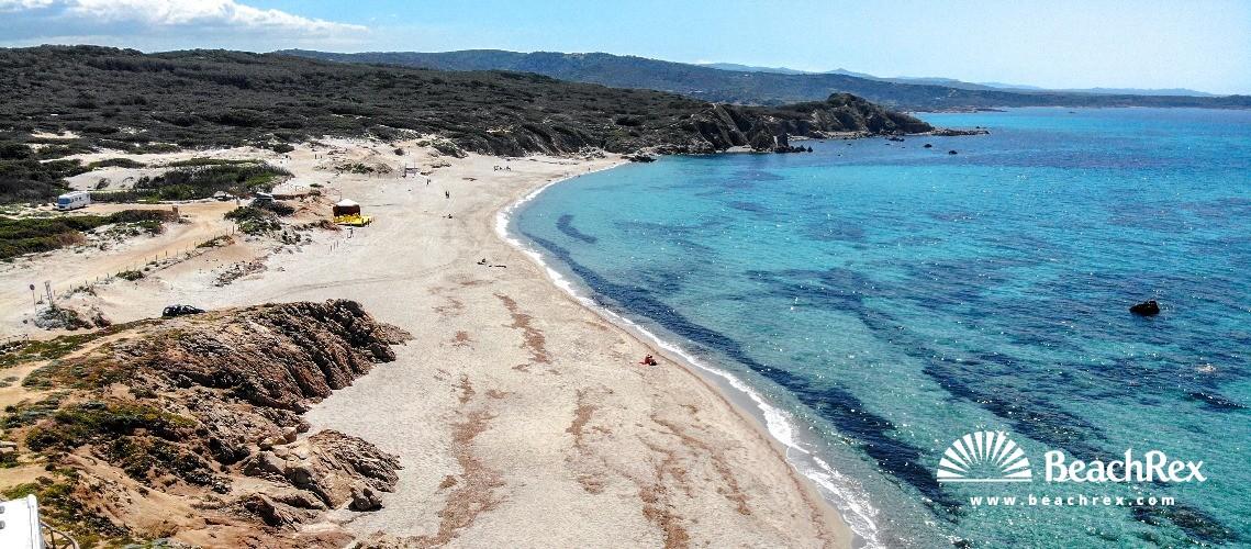 Italy - Sassari - Sardegna -  Aglientu - Beach di Rena Majori