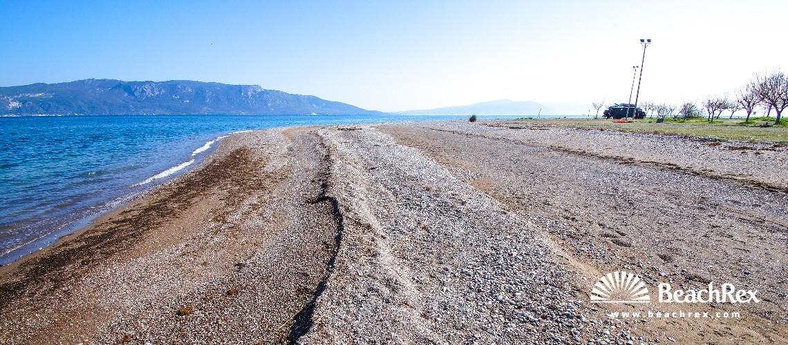 Greece - Sterea Ellada -  Aktí - Paralia Kalamos Longoú