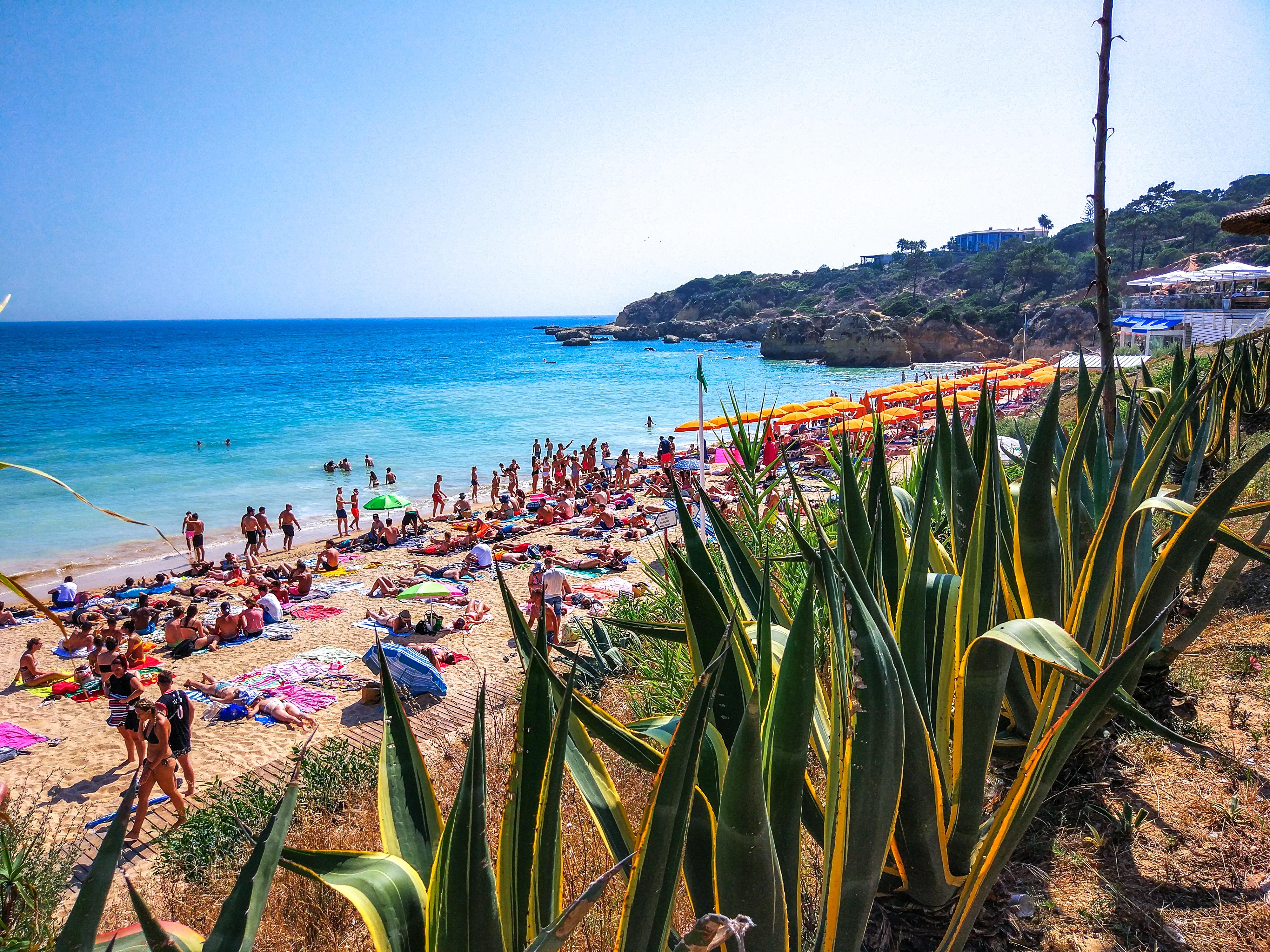 Portugal - Algarve -  Albufeira - Praia da Oura