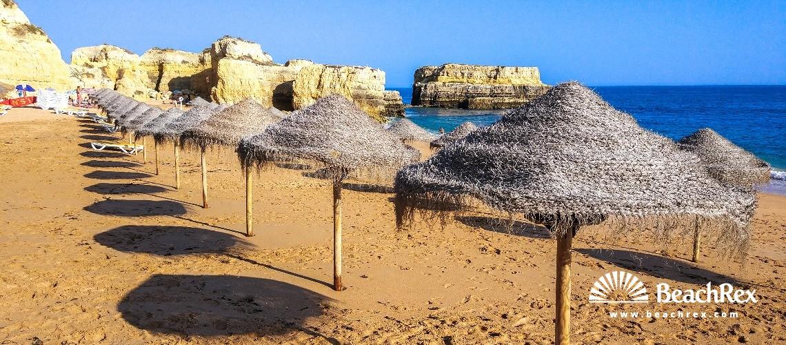 Portugal - Algarve -  Albufeira - Praia do Castelo
