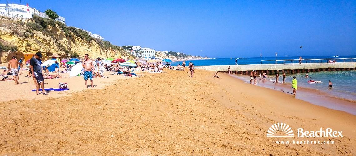 Portugal - Algarve -  Albufeira - Praia dos Pescadores