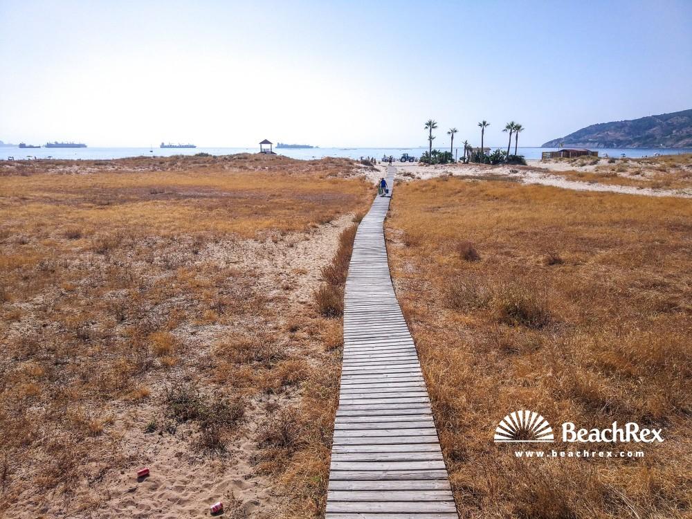 Spain - Andalucia -  Algeciras - Playa De Getares