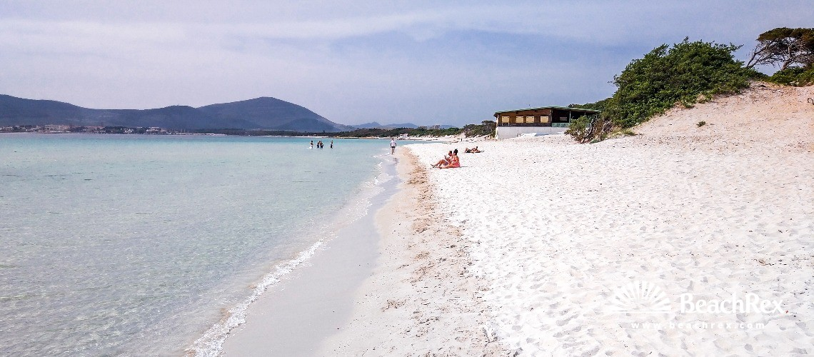 Italy - Sassari - Sardegna -  Alghero - Beach di Maria Pia
