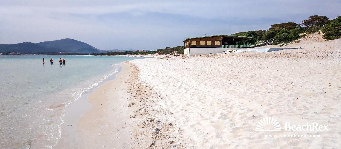 Playa Di Maria Pia Alghero Sardegna Sassari Italia Beachrex Com