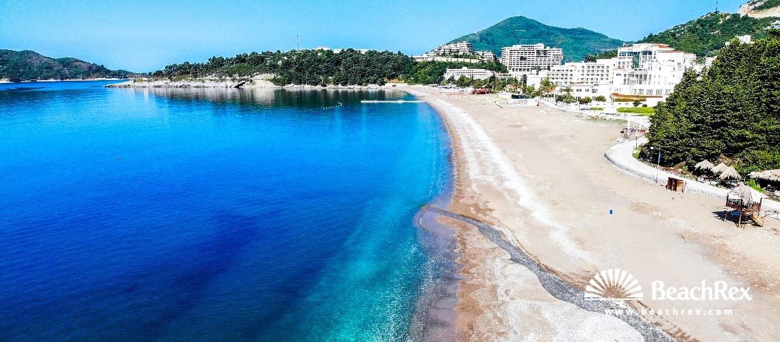 Montenegro - Budva -  Bečići - Beach Bečićka