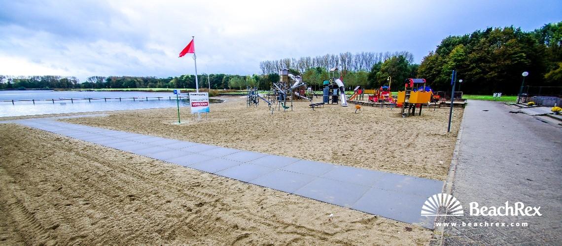 Belgium - OostVlaanderen -  Berlare - Strand Nieuwdonk