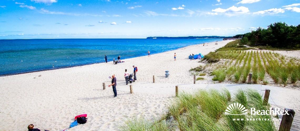 Germany - MecklenburgVorpommern - Rügen -  Binz - Strand Prora