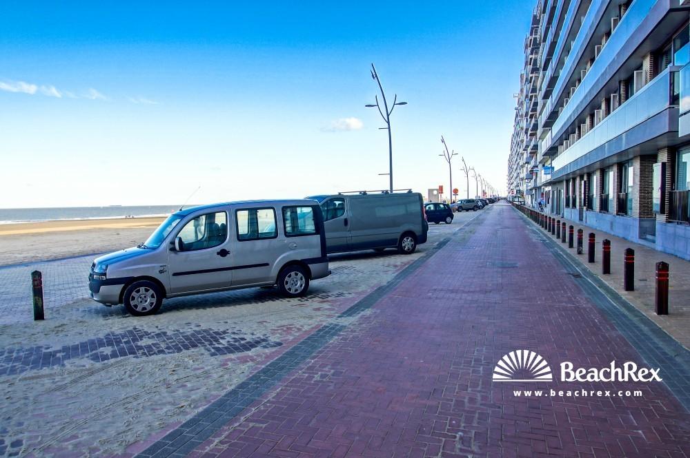 Belgium - WestVlaanderen -  Blankenberge - Strand Blankenberge