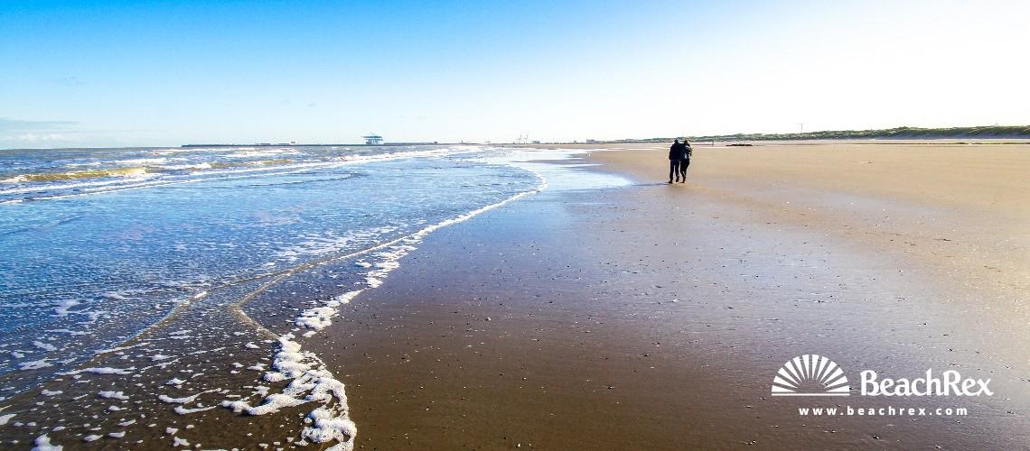 Belgium - WestVlaanderen -  Blankenberge - Strand Duinse Polders