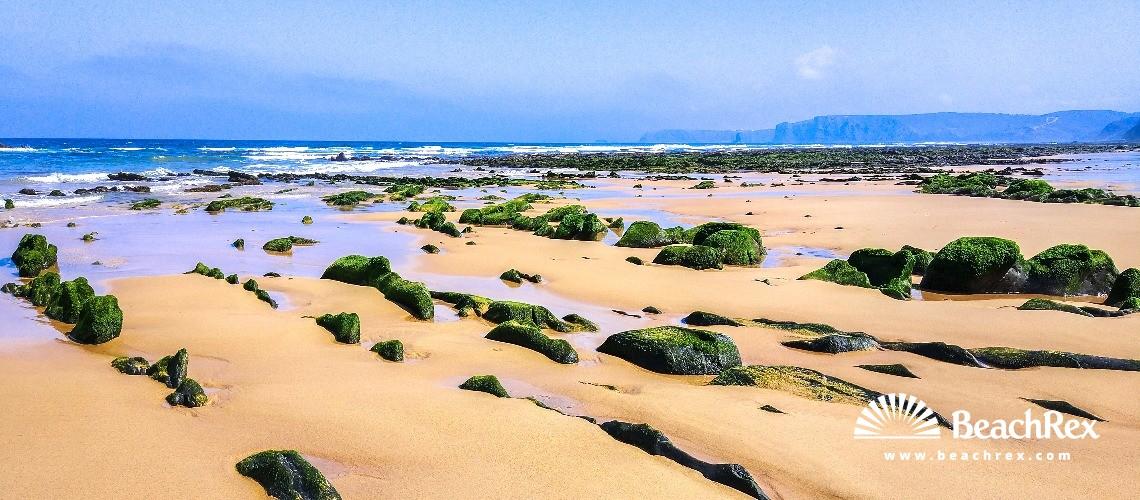 Portugal - Algarve -  Bordeira - Praia de Vale Figueiras