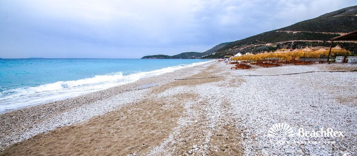 Albania - Vlorë -  Borsh - Plazhi Borsh