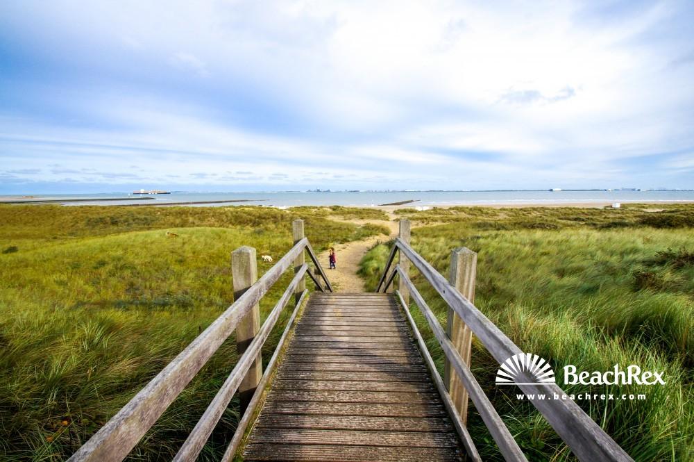 Netherlands - Zeeland -  Breskens - Strand Breskens