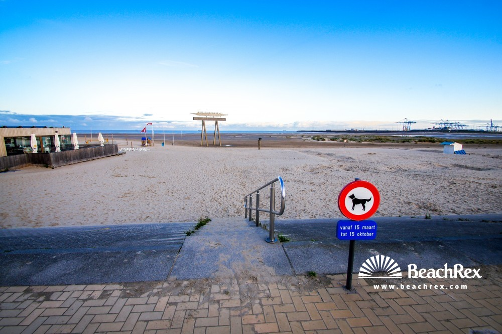 Belgium - WestVlaanderen -  Brugge - Strand Zeebrugge