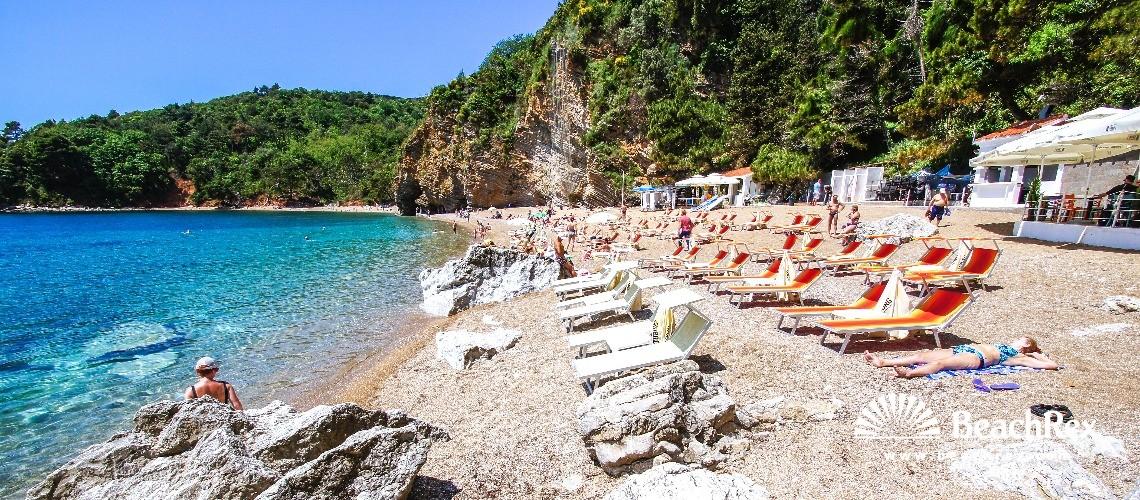 Montenegro - Budva -  Budva - Beach Mogren