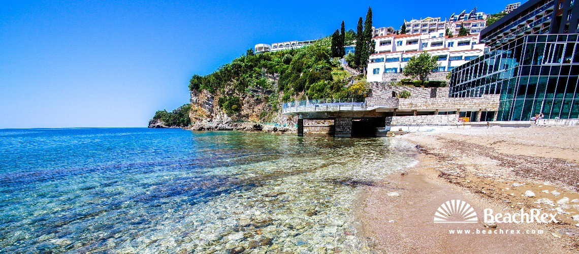Montenegro - Budva -  Budva - Beach Ričardova glava