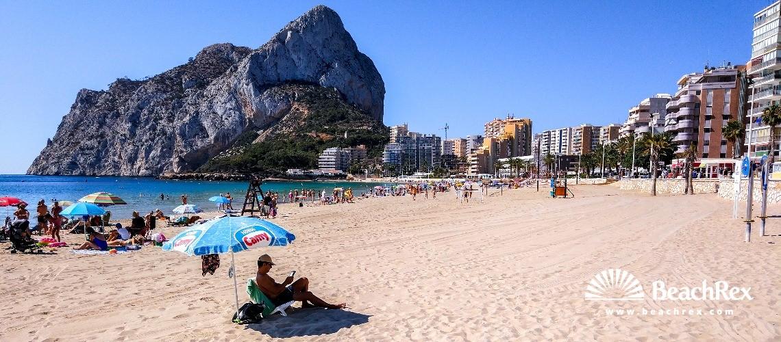 Spain - Valencia -  Calp - Playa de la Fossa