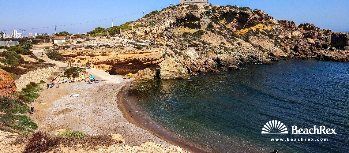 Spain - Murcia -  Cape Palos - Playa de la Calafría
