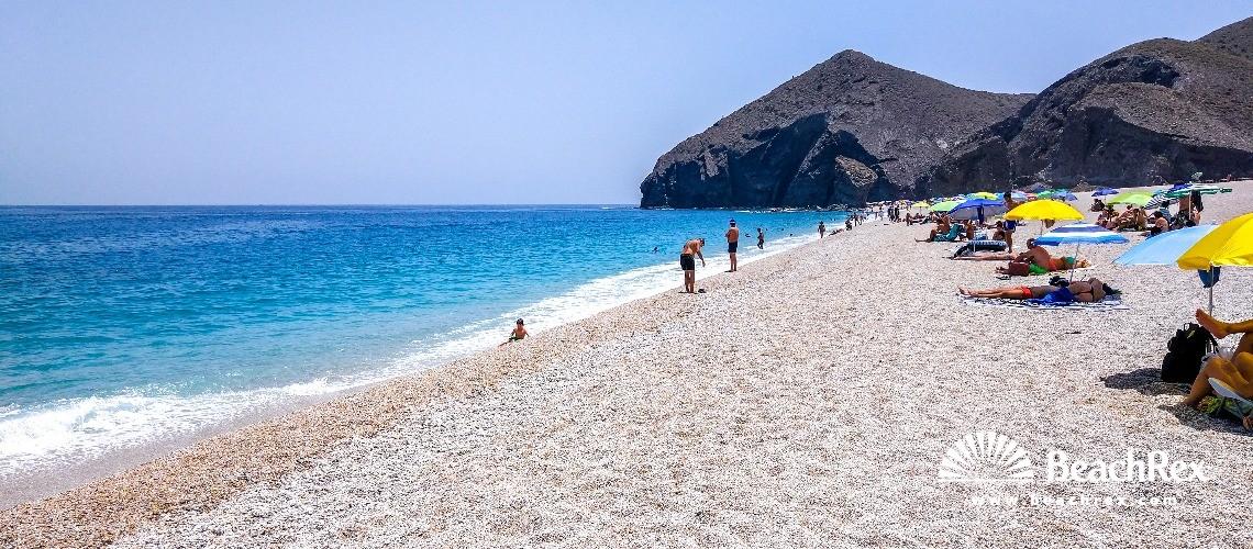 Spain - Andalucia -  Carboneras - Playa de los Muertos