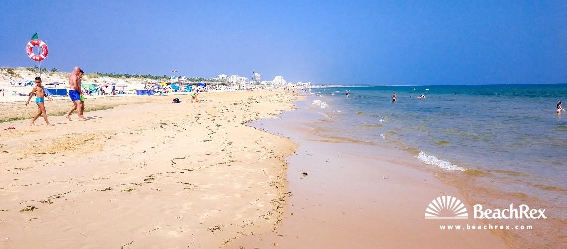 Portugal - Algarve -  Castro Marim - Praia do Cabeço