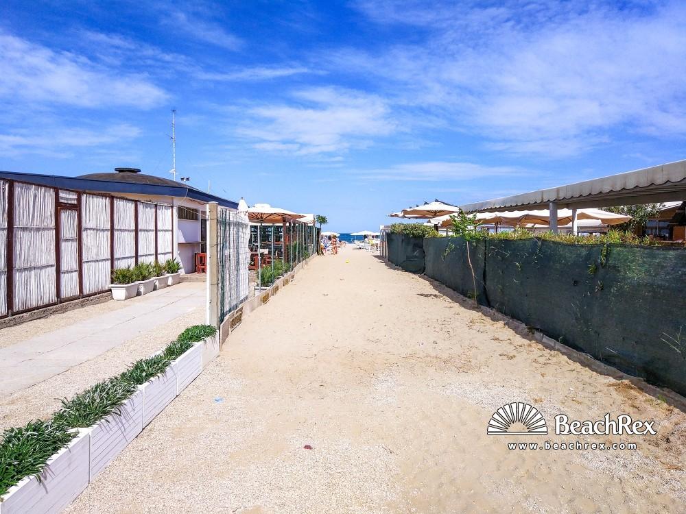 Italy - EmiliaRomagna -  Cervia - Beach Milano Marittima