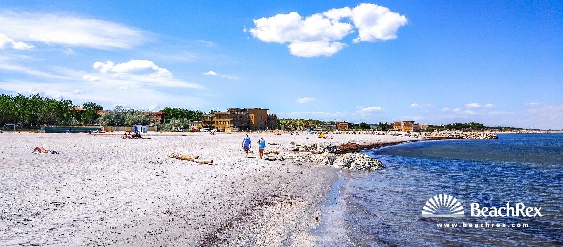 Italy - EmiliaRomagna -  Cesenatico - Beach Darsena
